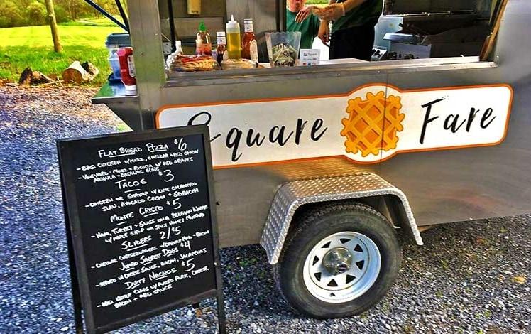 square fare food truck