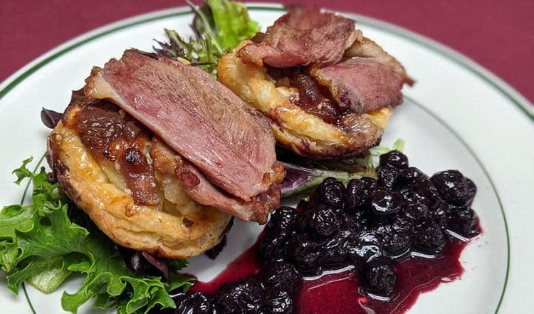 Smoked Duck Tartlettes