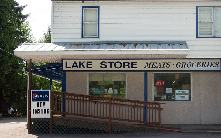 the-lake-store-promised-land-exterior store