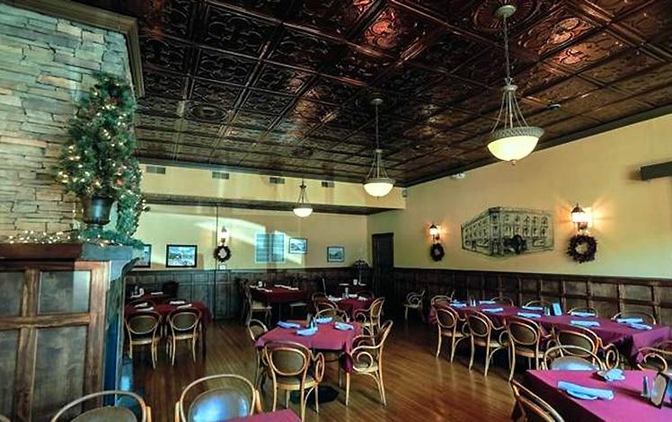 the ridge dining room