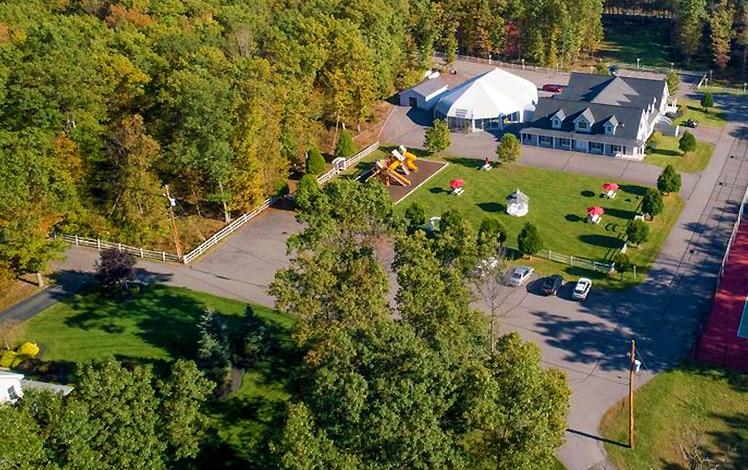 the-village-at-pocono-aerial view