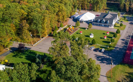 the-village-at-pocono-aerial view